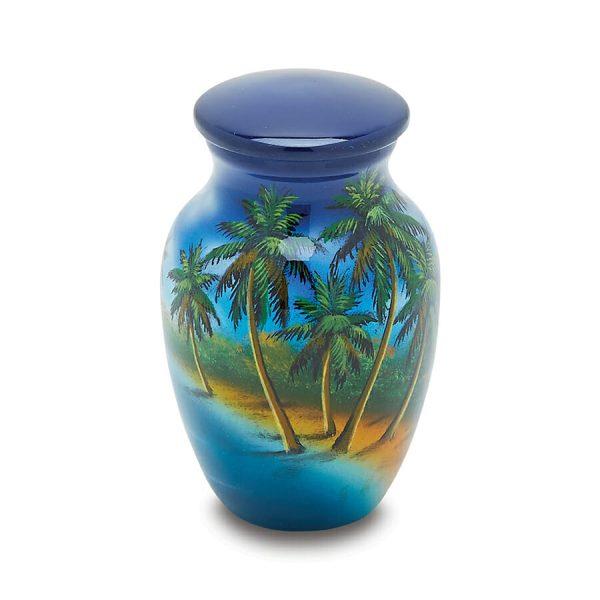 Paradise Token Urn