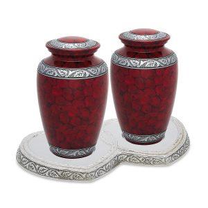 Royal Red Companion Urn Set