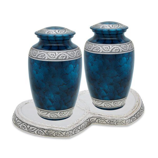 Middleton Blue Companion Urn Set