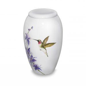 Hummingbird Delight Adult Urn