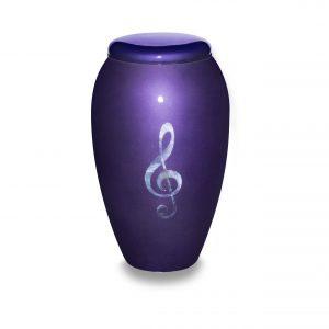 Deep Purple Adult Urn