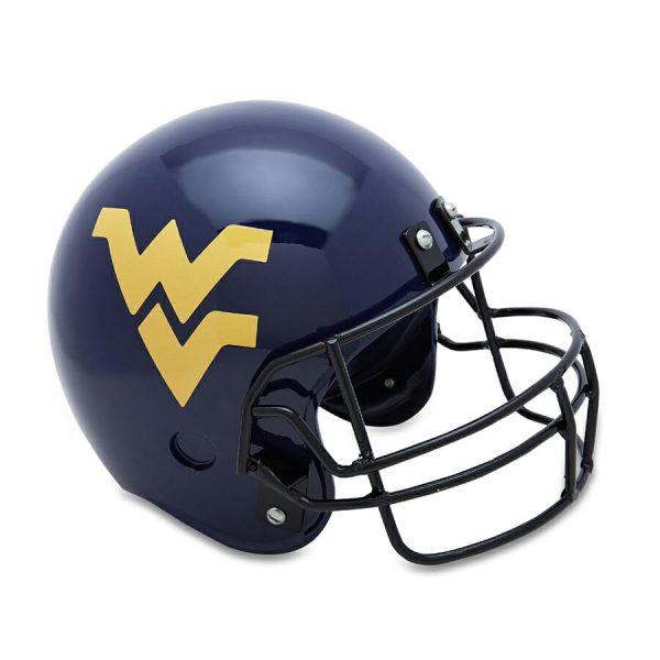 WVU Helmet Adult Cremation Urn
