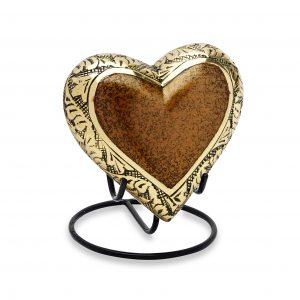 Berkshire Gold Keepsake Heart