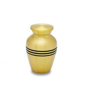 Classic Brass Token Urn