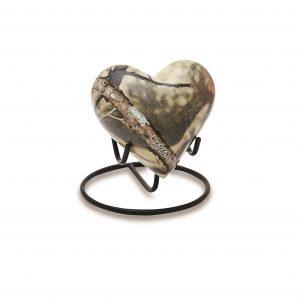 Camo Keepsake Heart