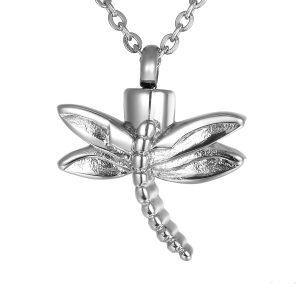 Dragonfly Cremation Urn Pendant