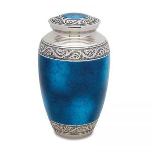 Grecian Blue Adult Urn