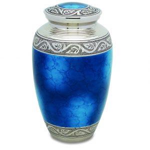 Grecian Blue Plus Size Urn