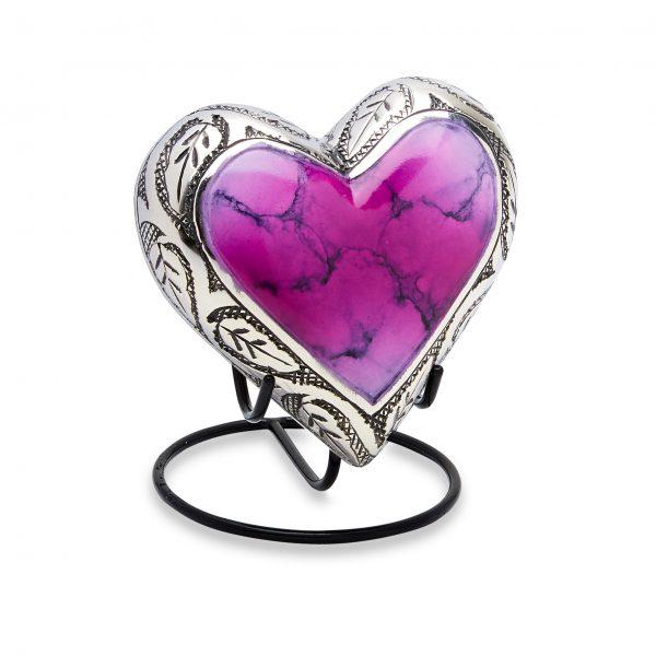 Grecian Pink Keepsake Heart