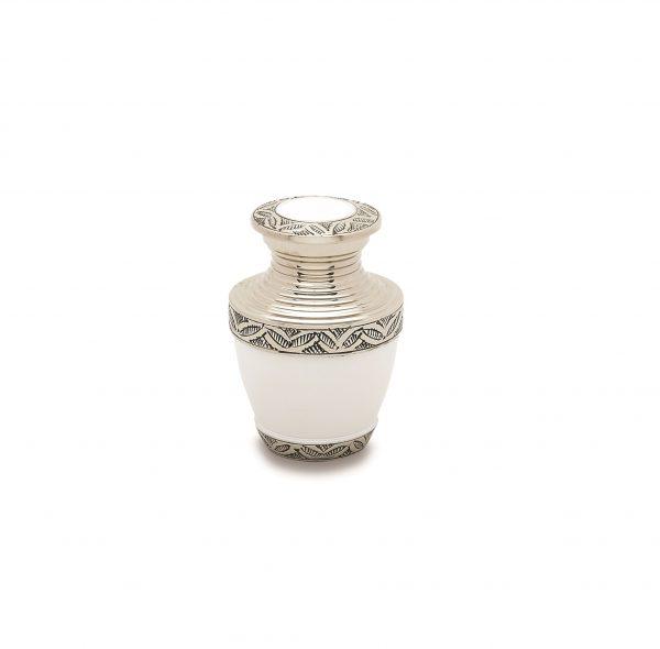 Grecian White Token Urn