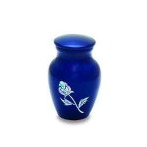 Blue Rose Token Urn