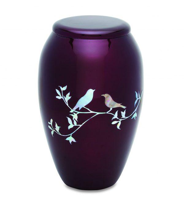 Purple Doves Adult Urn