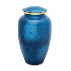 Mystic Blue Adult Cremation Urn CB