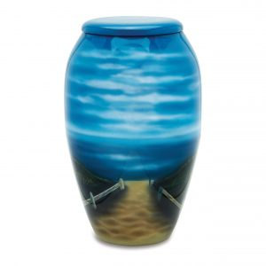 Sandy Beach Adult Urn