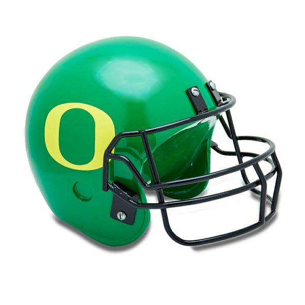 UO Football Helmet Cremation Urn