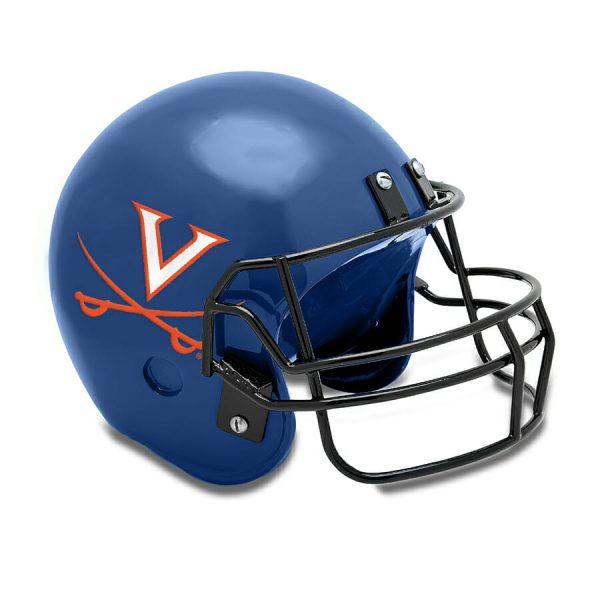 UVA Football Helmet Cremation Urn