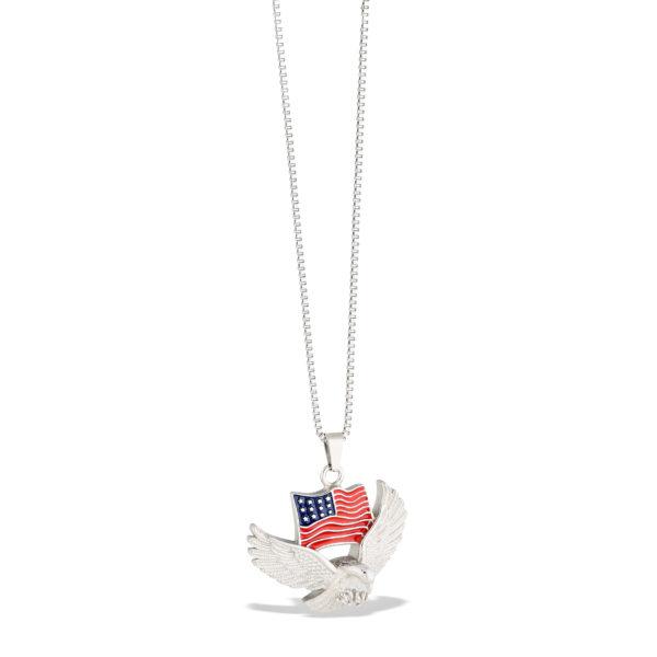American Pride Cremation Urn Pendant