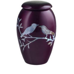 Purple Dove Token Urn