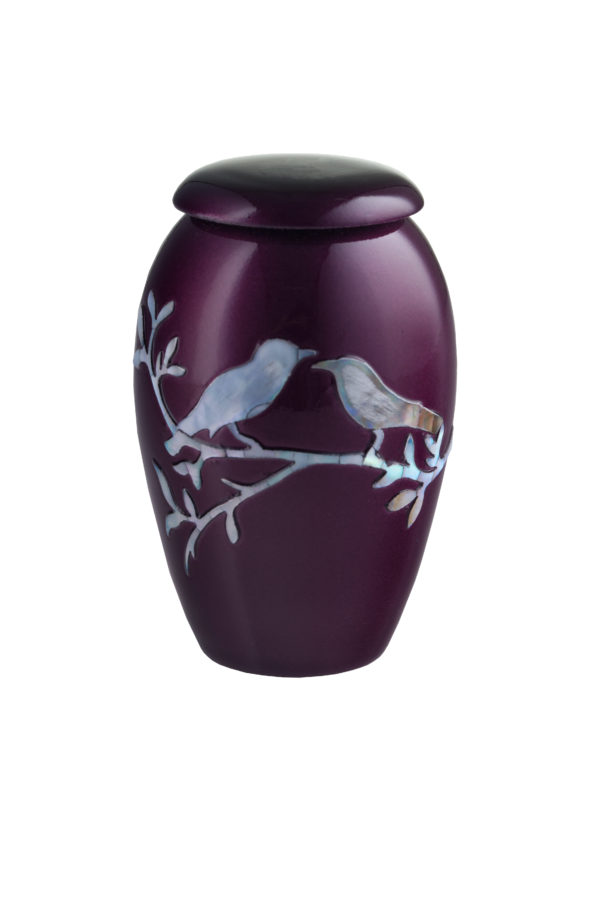 Purple Dove Token Urn