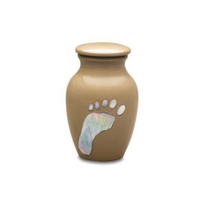 Footprints in The Sand Token Urn