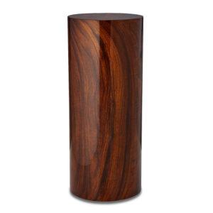 Brazilian Rosewood Cylinder Urn