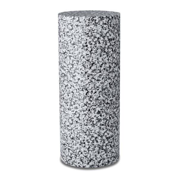Black Granite Cylinder Urn