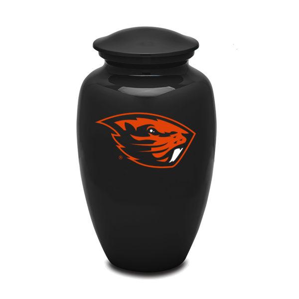 Oregon State Black Adult Urn