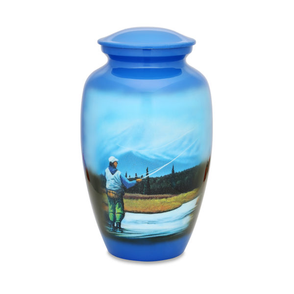 Fly Fishing Adult Urn